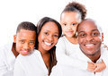 Beautiful African American family Royalty Free Stock Photo
