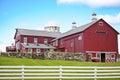 Beautiful American Farmhouse Stock Photos