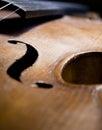 Beautiful Antique Violin Royalty Free Stock Photo
