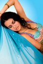 Beautiful arabic belly dancer Royalty Free Stock Photo