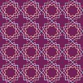Beautiful arabic design template with seamless arabic pattern. Abstract islamic design. Girih pattern.