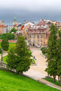 Beautiful architecture of the old town in Lublin Royalty Free Stock Photo