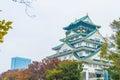 beautiful architecture at Osaka castle