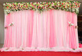 Beautiful arrangement backdrop flowers. Stock Photography