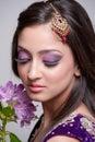 Beautiful asian bride Royalty Free Stock Photo