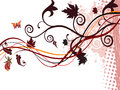Beautiful autumn abstract background Stock Photos