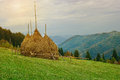Beautiful autumn landscape in the mountains. Royalty Free Stock Photo