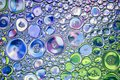 Beautiful background of colored bubbles. Royalty Free Stock Photo