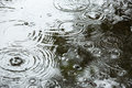 Beautiful backgrounds with falling water drops Royalty Free Stock Photo
