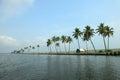 Beautiful backwater destinations of kerala india Stock Photo
