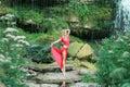 Beautiful Ballerina Performing...