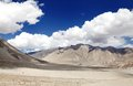 Beautiful barren mountains of ladakh landscape region Stock Images