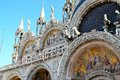 Beautiful basilica di san marco in venice st marks cathedral italy Royalty Free Stock Image