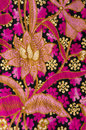 Beautiful of batik textile Royalty Free Stock Photo