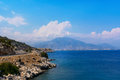 Beautiful Bay in the resort of Turkey Royalty Free Stock Photo