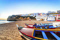 Beautiful beach in Carvoeiro, Algarve, Portugal Royalty Free Stock Photo