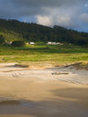 Beautiful beach in the north of spain this is located ferrol galicia and is called ponzos Stock Image