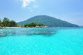 Beautiful beach at perhentian islands malaysia Royalty Free Stock Photos