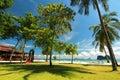 Beautiful beach and resort at trang thailand Royalty Free Stock Images