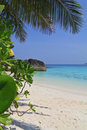 The beautiful beach in the Similan Islands Royalty Free Stock Image