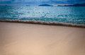 Beautiful beach with small wave at tropical island koh lipe Stock Photos