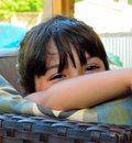 Beautiful beautiful eyes her magic my niece Stock Image