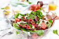 Beautiful beet and spinach Salad