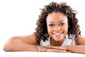 Beautiful black woman Stock Photo