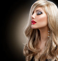 Beautiful Blond Woman Stock Photography