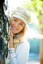 Beautiful blonde woman Royalty Free Stock Photo
