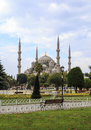 Beautiful blue mosque in istanbul turkey Stock Images