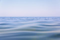 Beautiful blue water surface Royalty Free Stock Photo