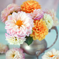 Beautiful bouquet of flowers. Royalty Free Stock Photo