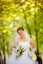 Beautiful Bride On The Nature