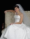 Beautiful bride posing for the camera. Royalty Free Stock Photography
