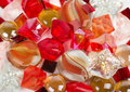 Beautiful bright colorful stones and crystals Royalty Free Stock Photography