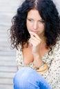 Beautiful brunet woman Royalty Free Stock Photo