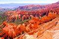 Beautiful bryce canyon the vibrant hues of national park usa Royalty Free Stock Photography