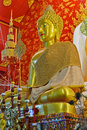 Beautiful Buddha Image In Temple Royalty Free Stock Photos