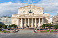 Beautiful building of the bolshoi theatre moscow sep on september in moscow russia complex buildings theater is Stock Photo