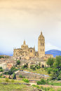 Beautiful buildings of segovia spain europe Royalty Free Stock Image