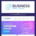Beautiful Business Concept Brand Name Big, chart, data, world, i