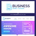 Beautiful Business Concept Brand Name Component, data, design, h