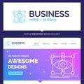 Beautiful Business Concept Brand Name design, draft, sketch, ske