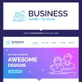 Beautiful Business Concept Brand Name student, employee, group