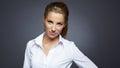 Beautiful businesswoman portrait,