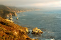 Beautiful California Coast Royalty Free Stock Photos