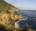 Beautiful California Pacific Ocean Coastline Stock Photo
