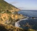 Beautiful California Pacific Ocean Coastline Royalty Free Stock Photo