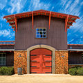 Beautiful California Winery Royalty Free Stock Photo